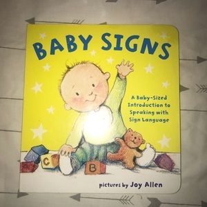 Baby sign language book